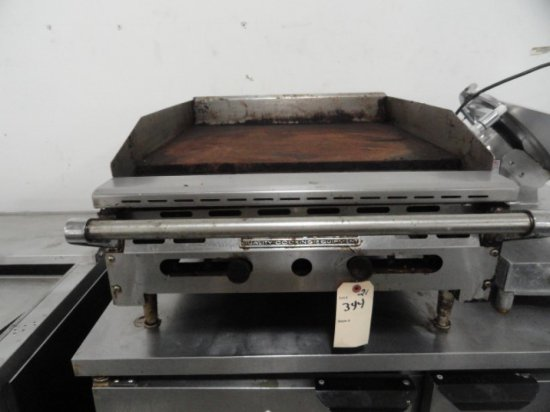 AMERICAN RANGE 24 GRIDDLE GAS ROUGH CONDITION