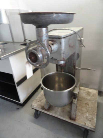 UNIVEX 20 QT M20 MIXER WITH BOWL AND GRINDER