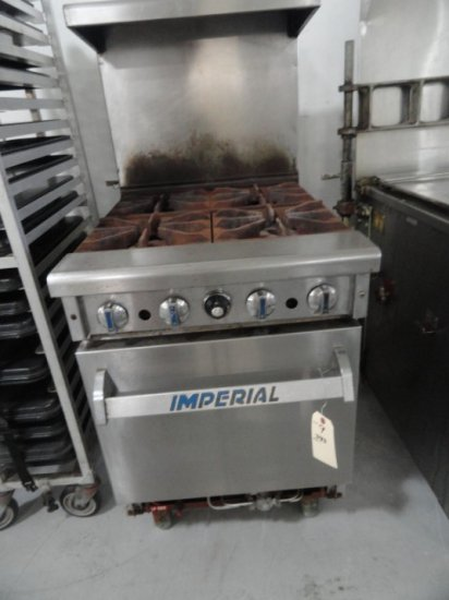 IMPERIAL 4 BURNER LP GAS