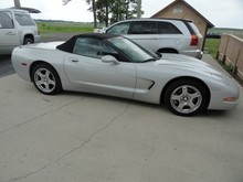 1999 CHEVROLET CORVETTE CONVERTIBLE 60000+ MILES 6