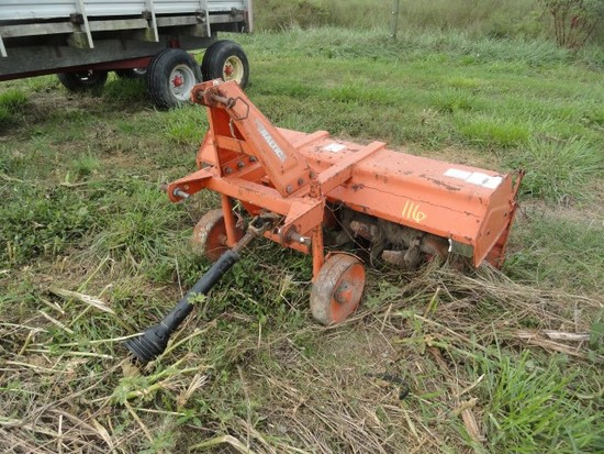 BALTIMATIC 6' ROTO TILLER WITH PTO SHAFT