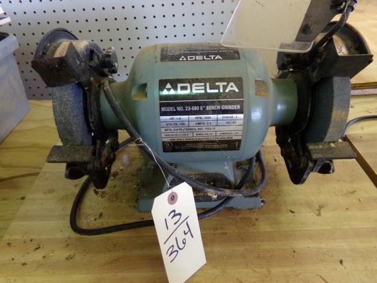 DELTA MODEL 23 680 6 INCH BENCH GRINDER 1/4 HP