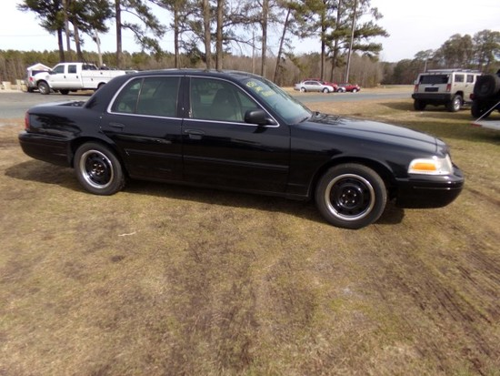 #3701 2009 FORD CROWN VIC POLICE INTERCEPTOR 180000+ MILES BUCKET SEATS RAD