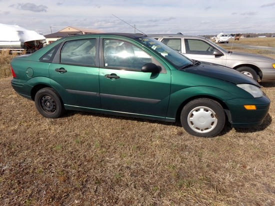 #1401 2001 FORD FOCUS 190360 MILES AUTO TRANS CLOTH ROUGH INTERIOR NOT RUNN