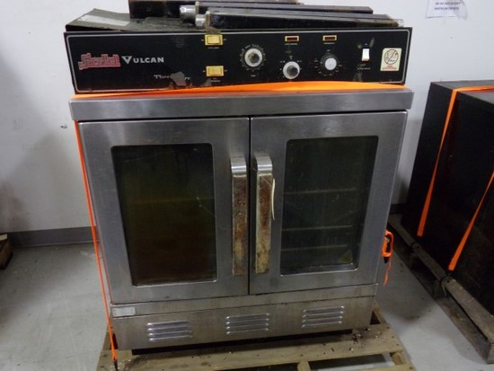 VULCAN SNORKELL FULL SIZE CONVECTION OVEN WITH LEGS GAS