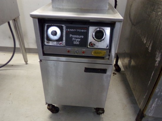 HENNY PENNY ELECTRIC PRESSURE FRYER 500