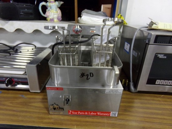 NEW STAR MAX COUNTER TOP 15 DEEP FRYER ELECTRIC MODEL 515EF