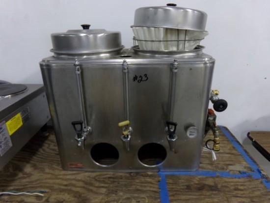 CECIL COFFEE URN NAT. GAS MODEL NPO-303