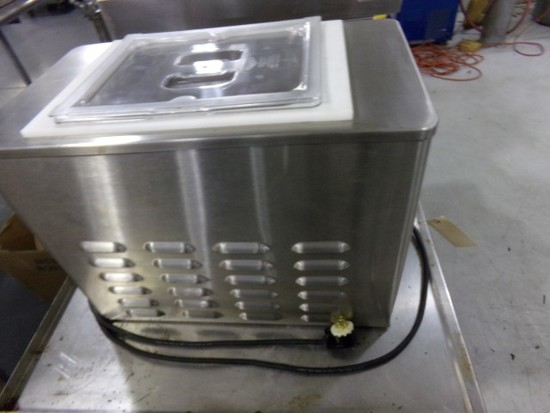 TEST MOD SHOW STOELTING COUNTERTOP BATCH FREEZER MOD VB1050026 VOLT 120V AM