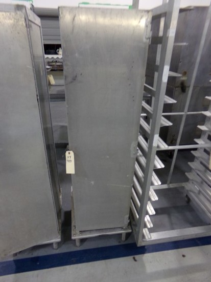 ALUMINUM NON HEATED PROOFING BOX BY LOCKWOOD MOD CA60RR25