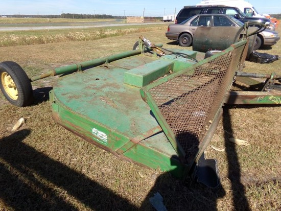 #3801 JOHN DEERE 14' MOWER SOME RUST