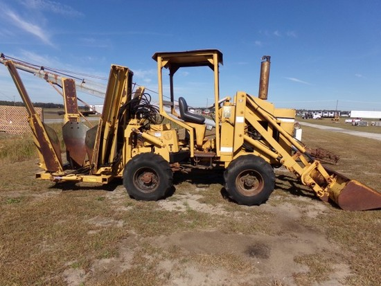 #5101 VERMEER M470 WITH LOADER 4X4 1928 HRS TREE SPADE ATTACHEMENT DIESEL A