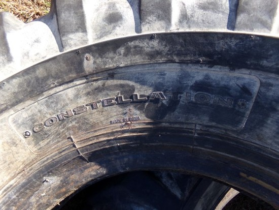 #4305 USED CONSTELLATION SUPER TRACTION 14.00 24 TUBELESS 12 PLY