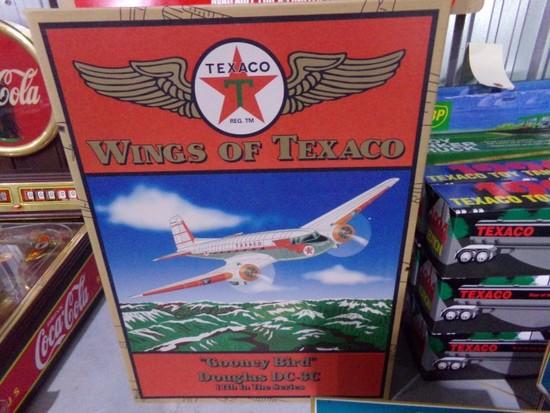 THREE NEW IN BOX WINGS OF TEXACO GOONEY BIRD DOUGLAS DC 3C 11TH IN THE SERI