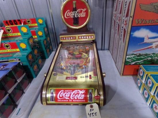 COCA COLA TABLE TOP PINBALL MACHINE