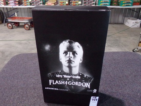 LARRY BUSTER CRABBE AS FLASH GORDON NEW IN BOX