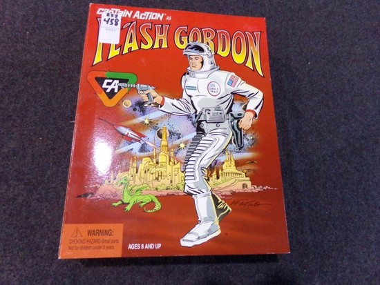 CAPTAIN ACTION AS FLASH GORDON NEW IN BOX