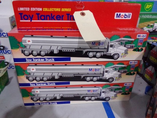 SIX NEW IN BOX MOBIL LIMITED EDITION COLLECTER SERIES WITH DUAL SOUND SWITC