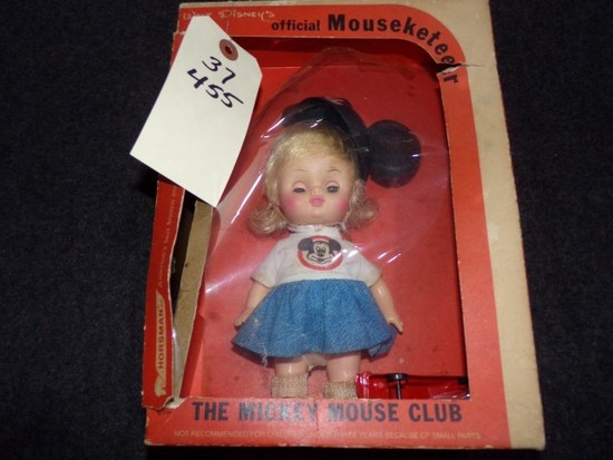 WALT DISNEY IN THE BOX OFFICIAL MOUSEKETEER THE MICKEY MOUSE CLUB BY HORSMA