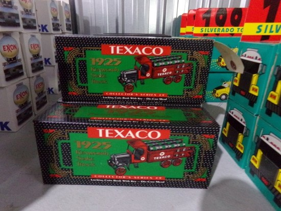 FIVE NEW IN BOX TEXACO 1925 KENWORTH STAKE TOY TRUCK COLLECTORS SERIES #9 L