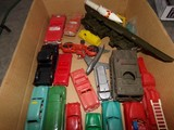 BOX LOT PLASTIC CARS