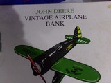 NEW IN BOX JOHN DEERE AIRPLANE BANK