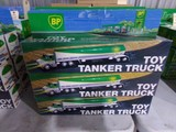 SIX NEW IN BOX BP TOY TANKER TRUCKS DUAL SOUND SWITCH HORN AND BACK UP REAL