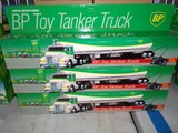 SIX NEW IN BOX LIMITED EDITION BP TOY TANKER TRUCKS WIRED REMOTE CONTROL