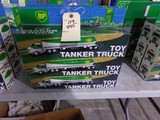 SIX NEW IN BOX BP TOY TANKER TRUCK DUAL SOUND SWITCH FOR HORN AND BACKUP RE