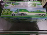 FOUR NEW IN BOX 1993 LIMITED EDITION BP TOY RACE CAR CARRIER