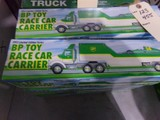 SIX NEW IN BOX BP 1993 LIMITED EDITION BP TOY RACE CAR CARRIER