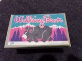 OCCUPIED JAPAN WALKING BEAR WIND OF TOY IN ORIGINAL BOX