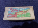 VINTAGE OVER THE HILL TOY MADE IN OCCUPIED JAPAN IN ORIGINAL BOX