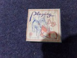 PLAYING DOG WIND UP TOY MADE IN OCCUPIED JAPAN IN ORIGINAL BOX