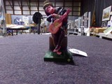 WIND UP CELLULOID MONKEY PLAYING GUITAR MADE IN OCCUPIED JAPAN