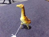 TIN WIND UP GIRAFFE MADE IN OCCUPIED JAPAN