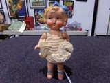 PLASTER KEWPIE DOLL TOY MADE IN OCCUPIED JAPAN