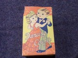 DANCING COUPLE CELLULIOD TOYS MADE IN OCCUPIED JAPAN IN ORIGINAL BOX MISSIN
