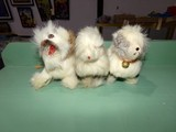 THREE WIND UP DOG TOYS MADE IN OCCUPIED JAPAN