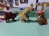 WIND UP BEAR ELEPHANT AND REGULAR CAMEL ALL MADE IN OCCUPIED JAPAN