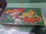 MECHANICAL EASTER TOY MADE IN OCCUPIED JAPAN IN ORIGINAL BOX