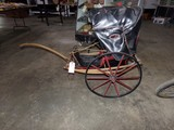 ANTIQUE CHILDS RICKSHAW