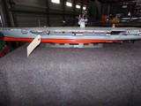 MODEL OF US AIRCRAFT CARRIER #65 APPROX 38 INCH LONG