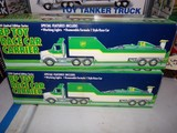THREE NEW IN BOX 1994 LIMITED EDITION SERIES BP TOY RACE CAR CARRIER