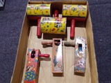 BOX LOT NOISE MAKERS INCLUDING HALLOWEEN NOISE MAKER BY KIRCHHOI NEWARK NEW