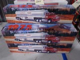 FIVE NEW IN BOX 1975 TEXACO TOY TANKER TRUCKS