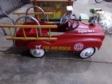 ENGINE N0 7 FIRE AND RESCUE PEDAL TRUCK
