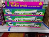 SIX NEW IN BOX 1994 LIMITED EDITION BP TOY TANKER TRUCK SUPER 93