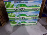 SIX NEW IN BOX 1993 LIMITED EDITION SERIES BP TOY RACE CAR CARRIER