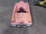 PINK THUNDERBIRD PEDAL CAR USA 111